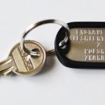 klucze czarny