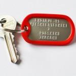 klucze czerwony