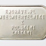 Engrave blaszka