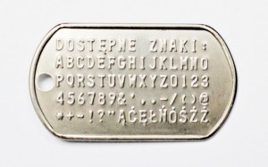 dostepne znaki Engrave