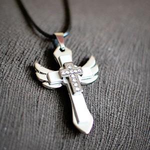 Anielski krzyżyk - ikona